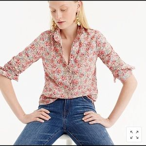 J. Crew made with Liberty Fabric size 8